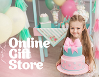 Online gift shop of balloons.