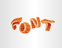 Sushi font