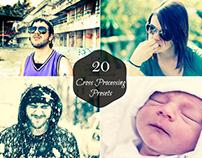 20 Free Cross Processing Lightroom Presets