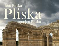 Free Font Pliska | Шрифт Pliska