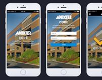 ANIXTER Inc. Web App