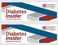 CDA Diabetes Insider banner design