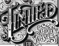 Your time is limited - lettering quote poster