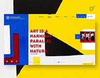 Artscape Microsite Design