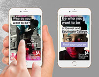 Interstitial ads for smartphones