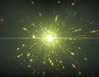 Futuristic Particle Explosion
