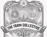 The Farm Collective Label Illustrated by Steven Noble