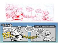 LopSide - Cartoon Series for LovingOnPurpose.com