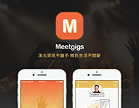 Meetgigs APP- Performance information for everyone