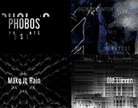 Design teaser for music label Phobos Records