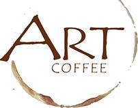 Logo art coffee