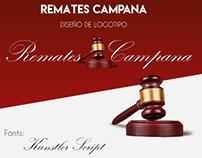 Remates Campana | Diseño de Logotipo