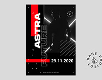 Astra Future Poster Design Template - Rare Project