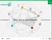 Разработка корпоративного сайта для Vivaki Kazakhstan