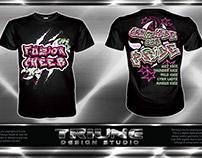 Fuzion Cheer Tshirt Design