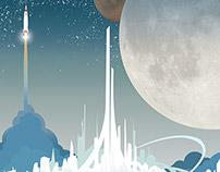 Tomorrowland Movie Poster Fan Art