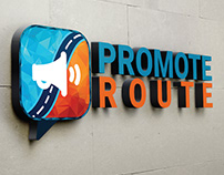 Promote Route (Brand Identity | Logo Creation)