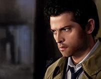Castiel (Misha Collins) Portrait