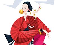 Diana Vreeland / Harper's BAZAAR China