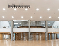 Auditoriums in Skoltech | Herzog & de Meuron