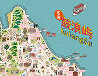 廈門鼓浪嶼地圖 Xiamen KulangSu Map