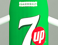 7up Character & Photo Area