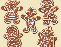 ∙ G ∙ is for Gingerbread Cookies