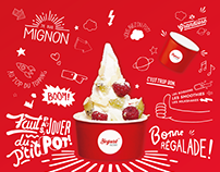 Yogurt Factory Rebranding
