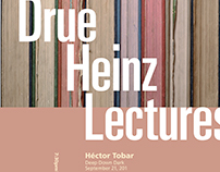 Drue Heinz Lecture Poster (hierarchy study)