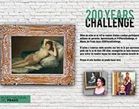 Museo Nacional del Prado // 200 Years Challenge