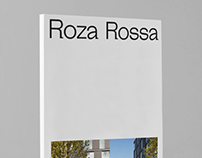 The brochure design for the Roza Rossa