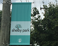 Shelby Park Street Banners