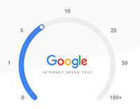Google Internet Speed Test