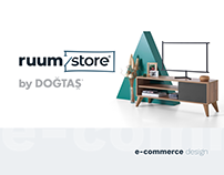 DOĞTAŞ ruumstore e-commerce design