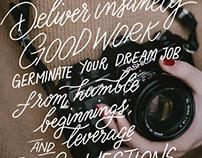Lettering – Converge Magazine