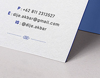 @dije.akbar Business Card