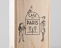 Café De Paris. Logo & Brand Identity