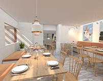 2018   El punto del cerdo // Restaurant Design