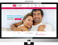 Sexual Function Clinic web design
