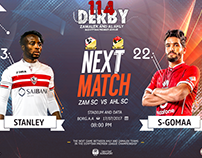NEXT MATCH AL AHLY & ZAMALEK DERBY 114