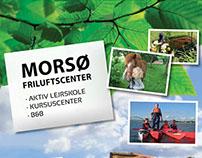 Brochure design - Morsø Friluftcenter, DK