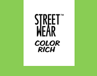 Color Rich Street Wear Website