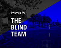 Posters for The Blind Team