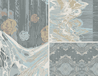Blossoming Tides Carpet Collection