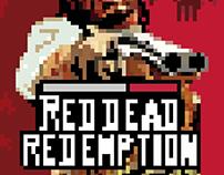 Red dead redemption l pixel art