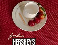"Hershey's ""fondue"""