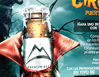 Gráficas Circotic - Coors Light