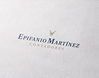 Epifanio Martínez Contadores Branding