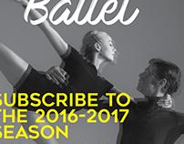 Pacific Ballet Brochure