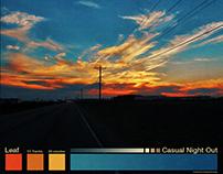 Fake Album Covers: Palettes